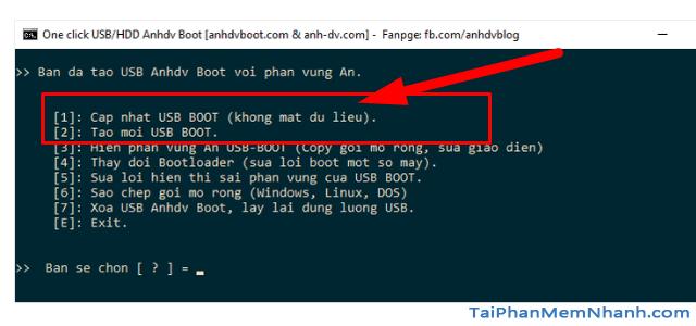 Anhdv Boot 2020 v2.0 - Hướng dẫn cách tạo USB Boot + Hình 6