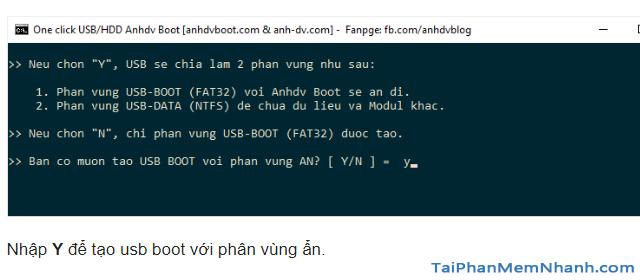 Anhdv Boot 2020 v2.0 - Hướng dẫn cách tạo USB Boot + Hình 8