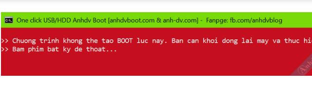 Anhdv Boot 2020 v2.0 - Hướng dẫn cách tạo USB Boot + Hình 10