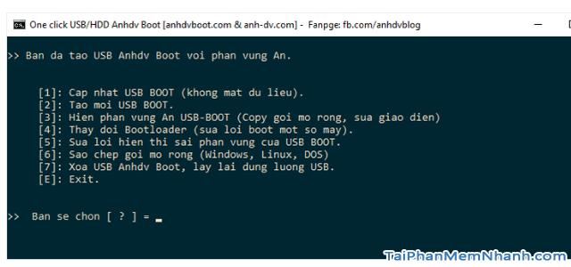 Anhdv Boot 2020 v2.0 - Hướng dẫn cách tạo USB Boot + Hình 13
