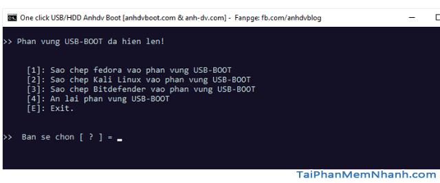 Anhdv Boot 2020 v2.0 - Hướng dẫn cách tạo USB Boot + Hình 14