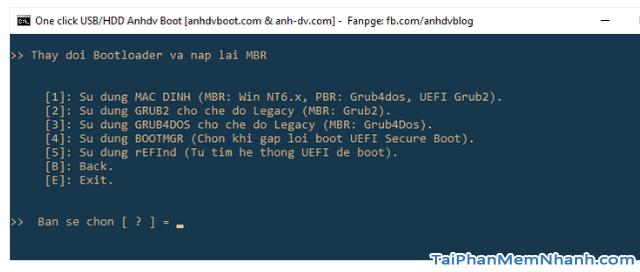Anhdv Boot 2020 v2.0 - Hướng dẫn cách tạo USB Boot + Hình 15