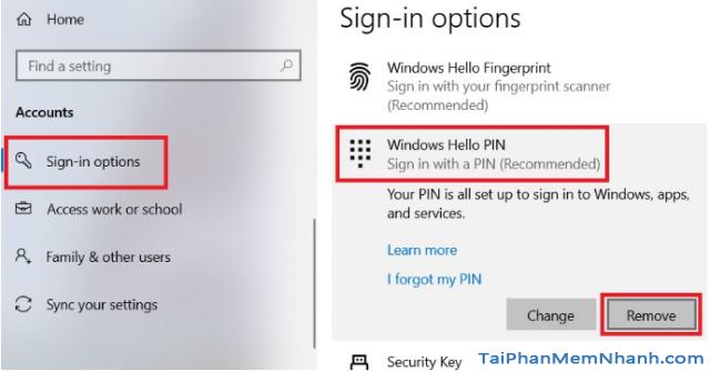 Ba cách đặt lại mã PIN trên Windows 10 khi bị quên + Hình 7