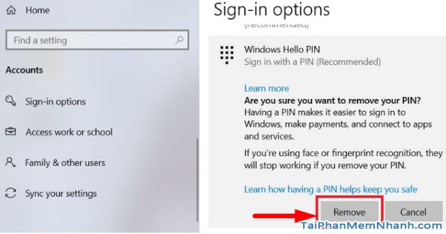 Ba cách đặt lại mã PIN trên Windows 10 khi bị quên + Hình 8