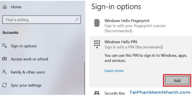 Ba cách đặt lại mã PIN trên Windows 10 khi bị quên + Hình 10