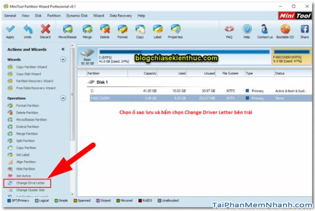 Dùng System Image để Sao lưu & Phục hồi Windows 10 + Hình 18