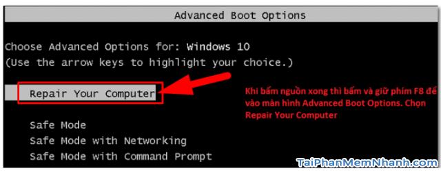 Dùng System Image để Sao lưu & Phục hồi Windows 10 + Hình 22