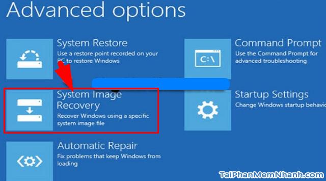 Dùng System Image để Sao lưu & Phục hồi Windows 10 + Hình 25