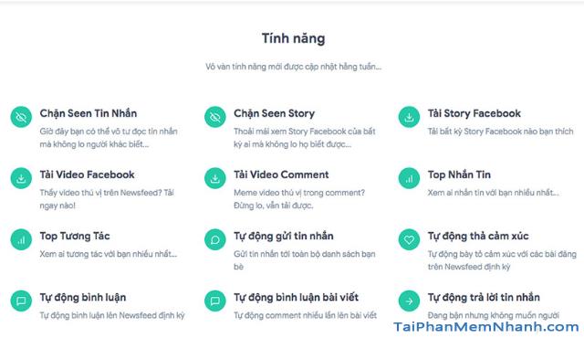 Thông tin về công cụ quản lý Facebook - Monokaitoolkit + Hình 2