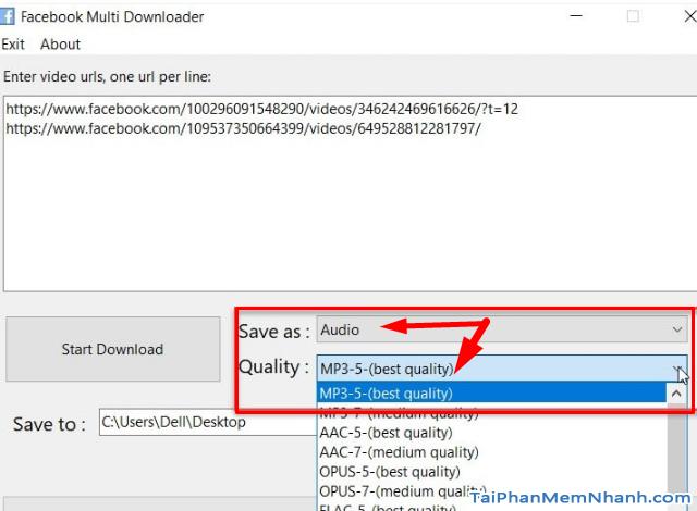 Cách dùng Multi downloader tải nhiều video trên Facebook + Hình 8