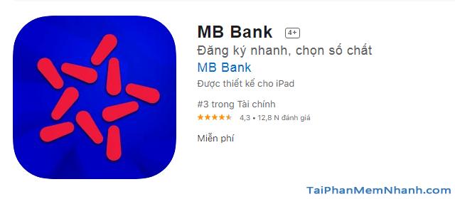 Tải MBBank - Ứng dụng Ngân hàng quân đội cho điện thoại iOS + Hình 8