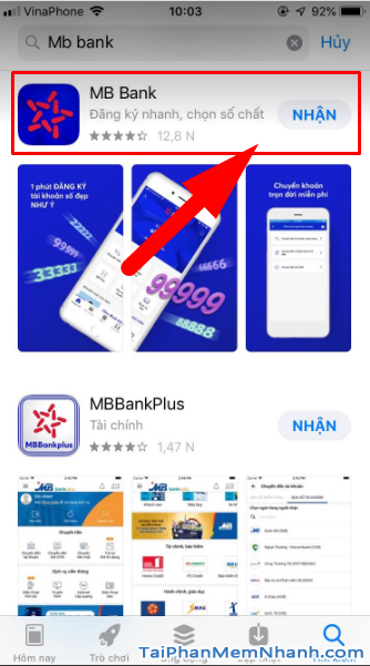 Tải MBBank - Ứng dụng Ngân hàng quân đội cho điện thoại iOS + Hình 12