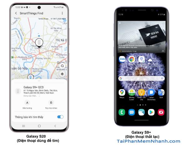 Cách tìm điện thoại Samsung bị mất khi không có internet + Hình 5