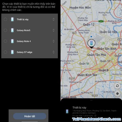 Cách tìm điện thoại Samsung bị mất khi không có internet + Hình 14