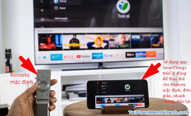 Điều khiển Samsung Smart TV bằng App SmartThings trên mobile + Hình 24