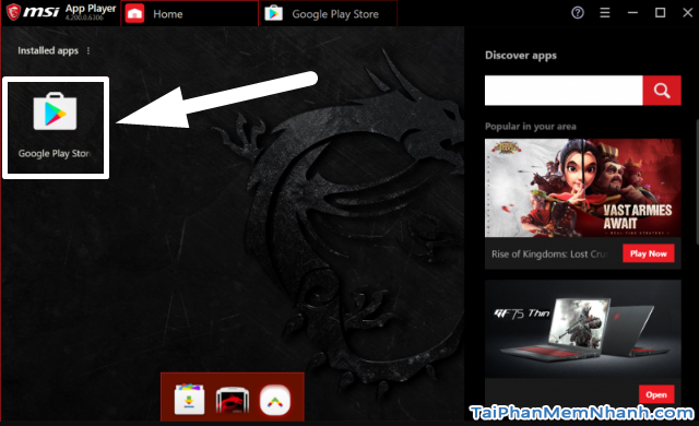 Tải cài đặt MSI App Player chơi Liên Minh: Tốc Chiến trên PC + Hình 13