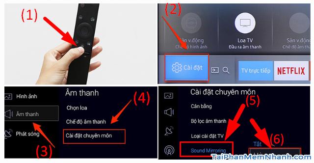 Cách kết nối Smartphone với Smart TV qua Bluetooth để phát nhạc + Hình 3