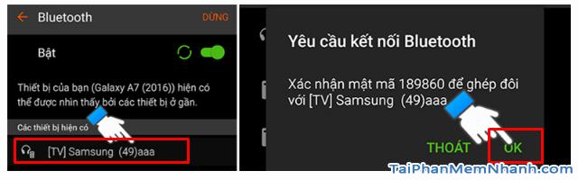 Cách kết nối Smartphone với Smart TV qua Bluetooth để phát nhạc + Hình 4