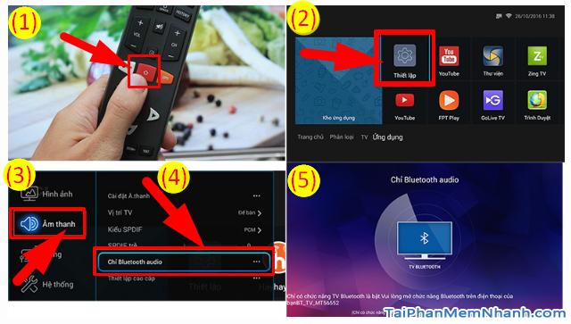 Cách kết nối Smartphone với Smart TV qua Bluetooth để phát nhạc + Hình 12