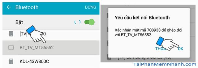 Cách kết nối Smartphone với Smart TV qua Bluetooth để phát nhạc + Hình 13