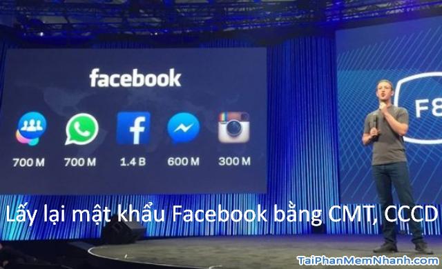 Cách lấy lại mật khẩu Facebook bằng CMT, CCCD 2021