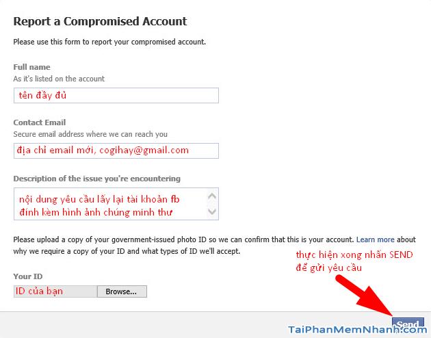 Cách lấy lại mật khẩu Facebook bằng CMT, CCCD 2021 + Hình 13