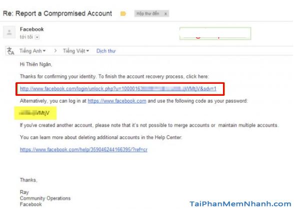 Cách lấy lại mật khẩu Facebook bằng CMT, CCCD 2021 + Hình 15