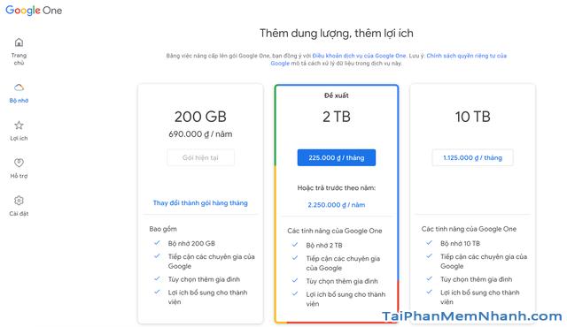Dịch vụ lưu trữ nào thích hợp nhất khi Google Photos không còn miễn phí ?  + Hình 3