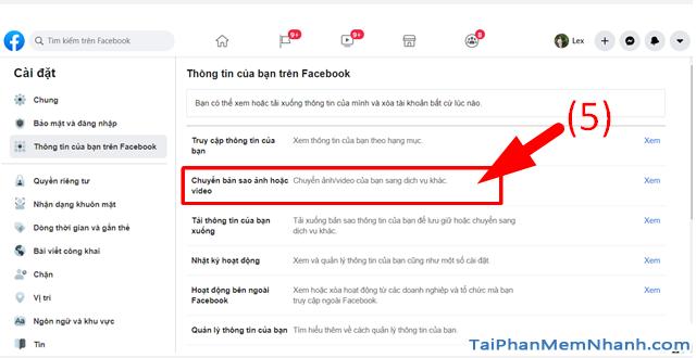 Hướng dẫn di chuyển ảnh từ Facebook sang Google Photos + Hình 7