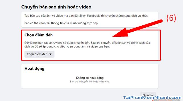 Hướng dẫn di chuyển ảnh từ Facebook sang Google Photos + Hình 8