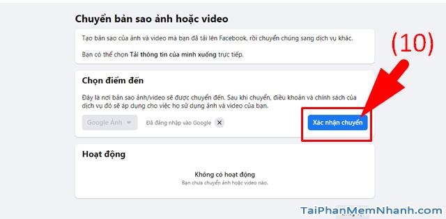 Hướng dẫn di chuyển ảnh từ Facebook sang Google Photos + Hình 13