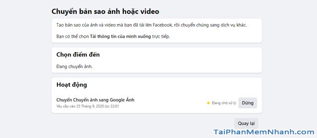 Hướng dẫn di chuyển ảnh từ Facebook sang Google Photos + Hình 14