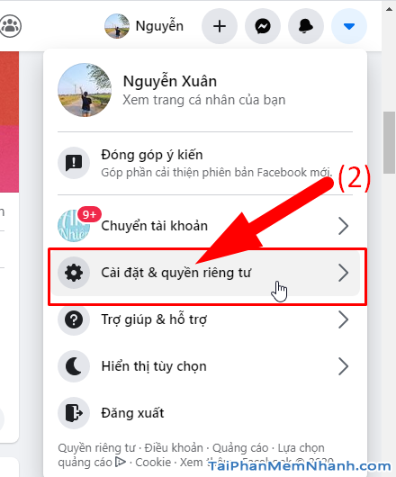 10 Thủ thuật nâng cao bảo mật cho tài khoản Facebook + Hình 4