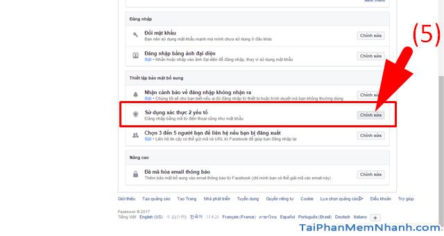 10 Thủ thuật nâng cao bảo mật cho tài khoản Facebook + Hình 7