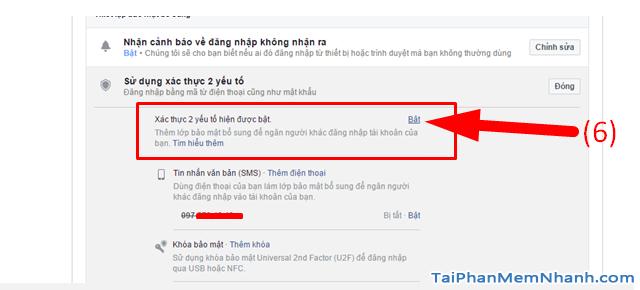 10 Thủ thuật nâng cao bảo mật cho tài khoản Facebook + Hình 8