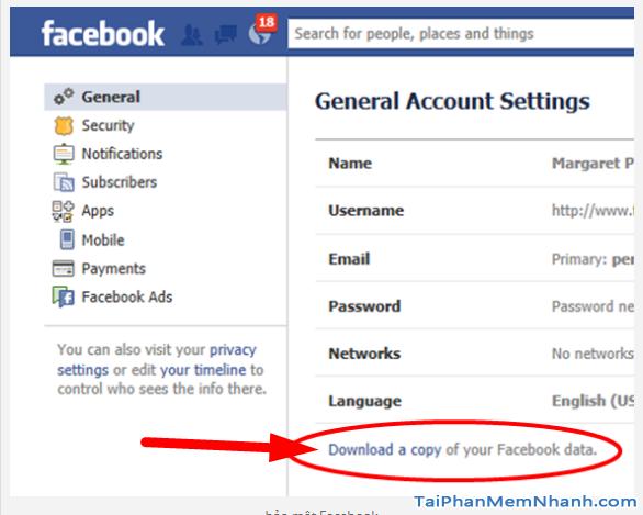 10 Thủ thuật nâng cao bảo mật cho tài khoản Facebook + Hình 17