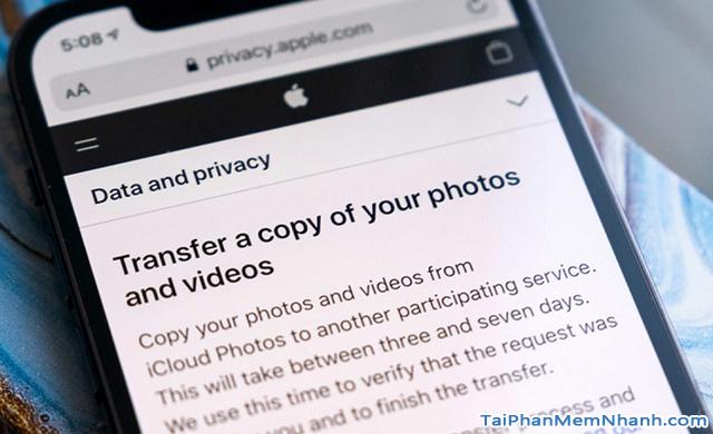 Hướng dẫn chuyển ảnh từ Apple iCloud sang Google Photos + Hình 3