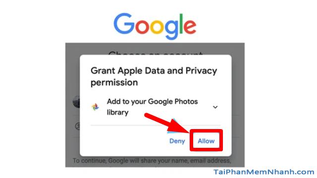 Hướng dẫn chuyển ảnh từ Apple iCloud sang Google Photos + Hình 11