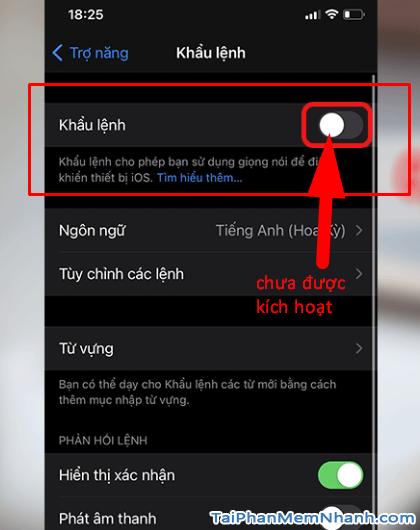 Hướng dẫn mở khóa điện thoại iPhone bằng giọng nói + Hình 7