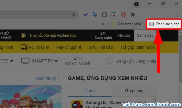 Google Chrome bổ sung thêm chức năng Reading list + Hình 8