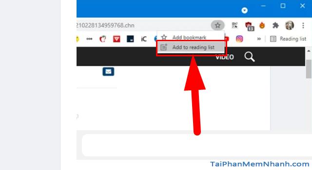 Google Chrome bổ sung thêm chức năng Reading list + Hình 9