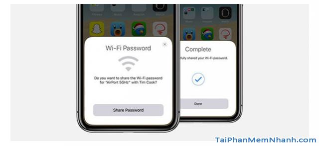 Chia sẻ mật khẩu Wifi trên iOS mà không cần phải nhập mật khẩu + Hình 7