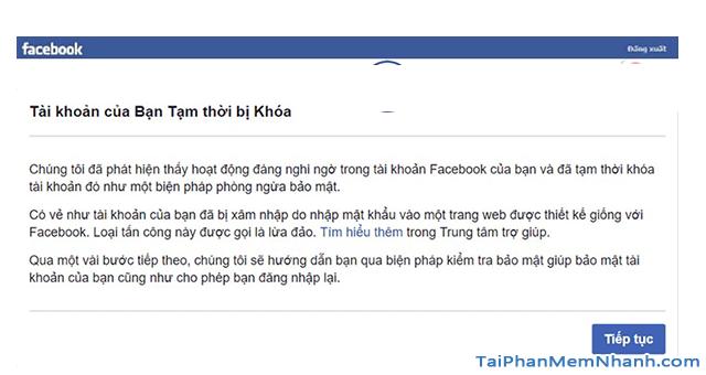 Thủ thuật Khôi phục lại Tài khoản Facebook bị vô hiệu hóa + Hình 2