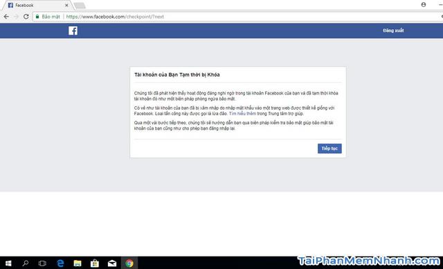 Thủ thuật Khôi phục lại Tài khoản Facebook bị vô hiệu hóa + Hình 3