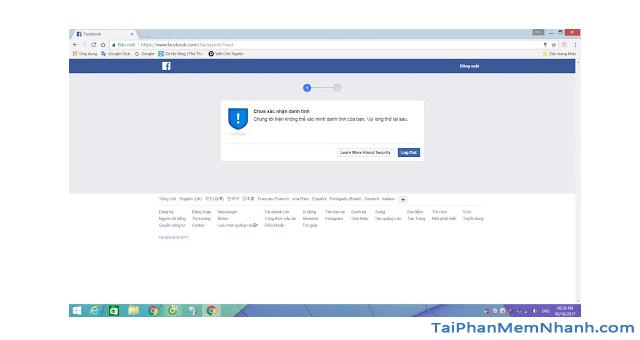 Thủ thuật Khôi phục lại Tài khoản Facebook bị vô hiệu hóa + Hình 4