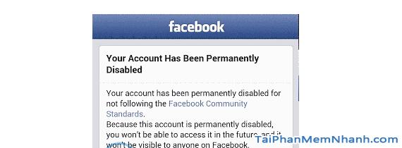Thủ thuật Khôi phục lại Tài khoản Facebook bị vô hiệu hóa + Hình 6