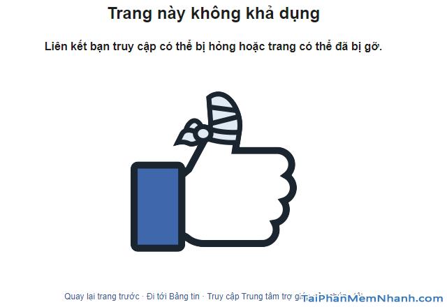 Thủ thuật Khôi phục lại Tài khoản Facebook bị vô hiệu hóa + Hình 7