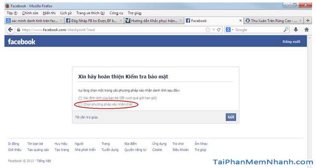 Thủ thuật Khôi phục lại Tài khoản Facebook bị vô hiệu hóa + Hình 9