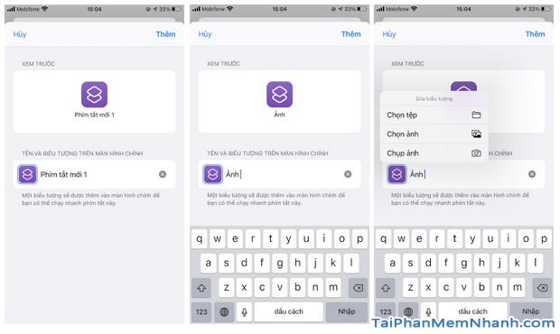 Hướng dẫn thay đổi icon ứng dụng bằng Phím tắt trên iOS 14 + Hình 13