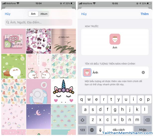 Hướng dẫn thay đổi icon ứng dụng bằng Phím tắt trên iOS 14 + Hình 14